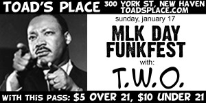 CATCH THE BAND AT TOADS PLACE THIS SUNDAY!! PRINT DISCOUNT PASS