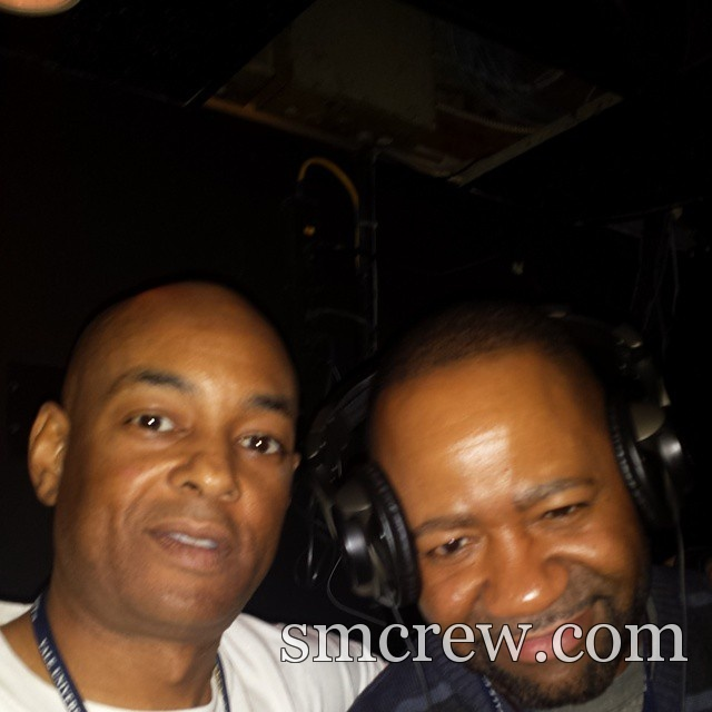 Selfie:  The Grand Wizard Stevie 'D' & DJ Juan Coon