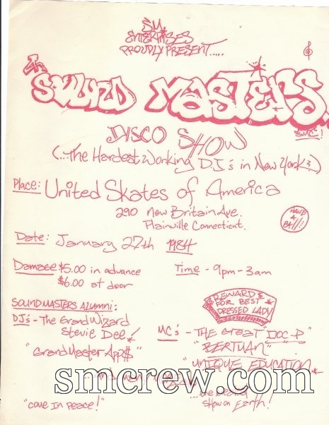 United Skates Of America, Plainville, CT 1984 Red